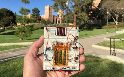 UCLA scientists create quick-charging hybrid supercapacitors