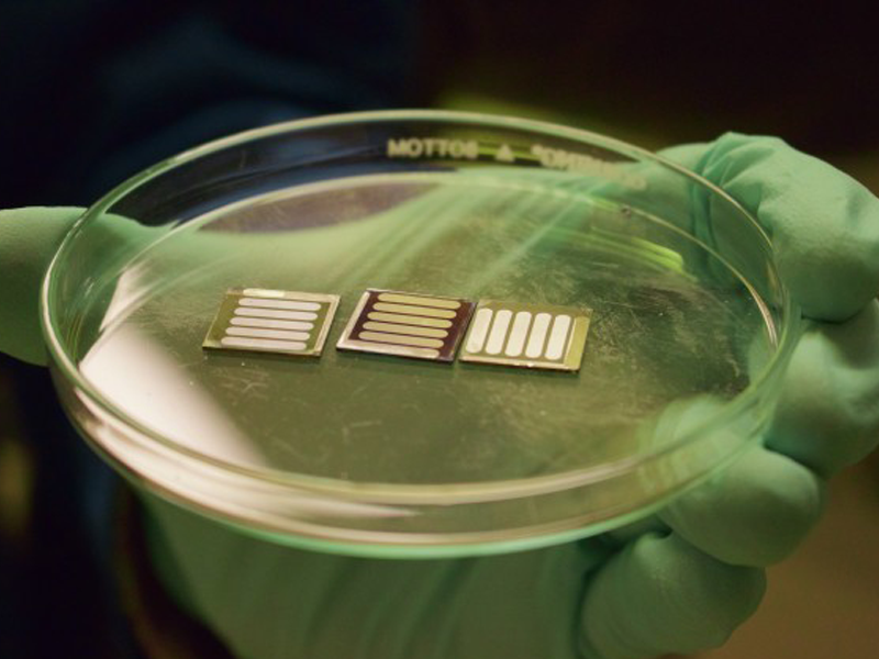 Next-generation perovskite solar cells made stable by metal oxide 'sandwich'
