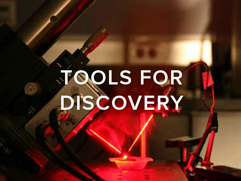 Tools for Discovery
