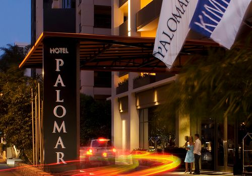 Hotel Palomar Prices Starting At 209 Per Night 10740 Wilshire Boulevard Los Angeles Ca 90024 310 475 8711 Distance From Ucla Campus 1 02 Miles