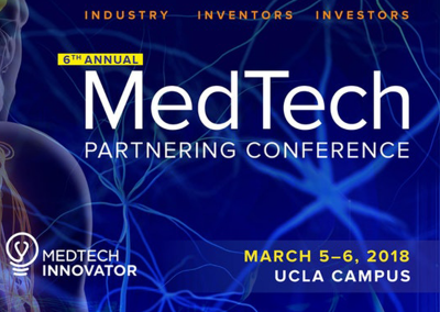 March 5 – 6, 2018 | UCLA's 6th Annual MedTech Partnering Conference