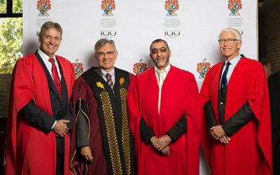 March 14, 2018 | Top South African university honors Prof André Nel