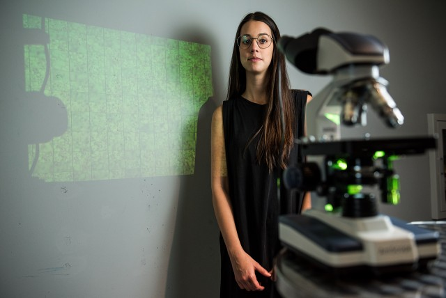 April 25, 2019 | Student Uses Microscopes to Get Closer Look at Potential for Music Creation