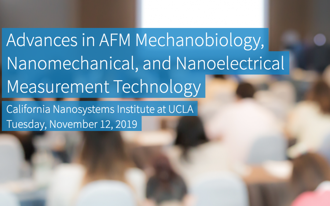 November 12th, 2019 | Advances in AFM Mechanobiology, Nanomechanical, and Nanoelectrical Measurement Technology