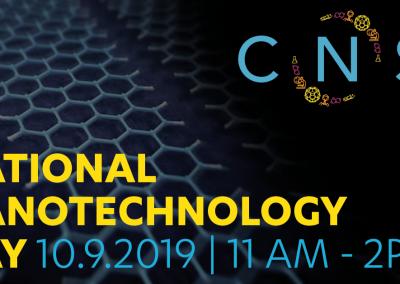 October 9, 2019 | National Nanotechnology Day
