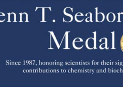 November 23, 2019 | Glenn T. Seaborg Symposium & Medal Award Dinner