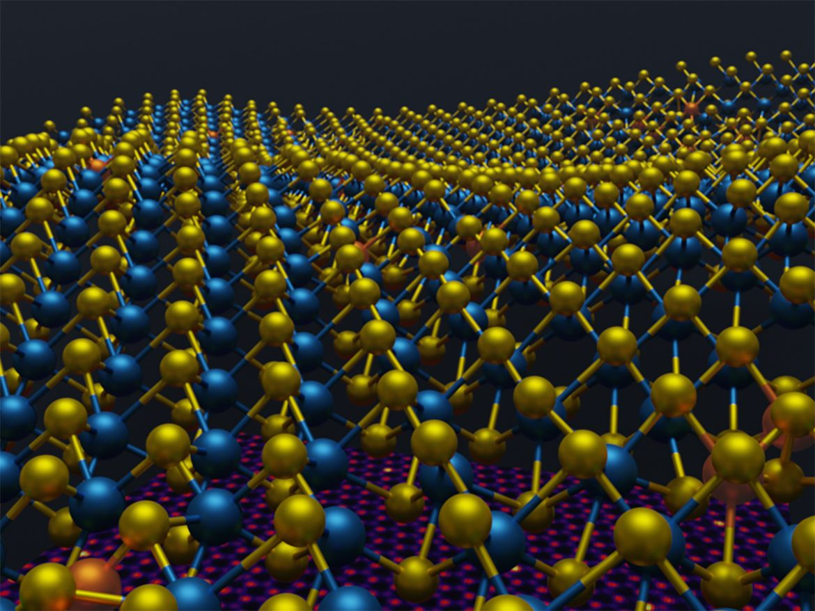 3D images of 2D materials