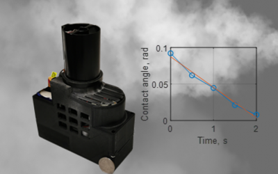 June 14, 2021   Rapid measurement of aerosol volatility using a deep learning-based portable microscope