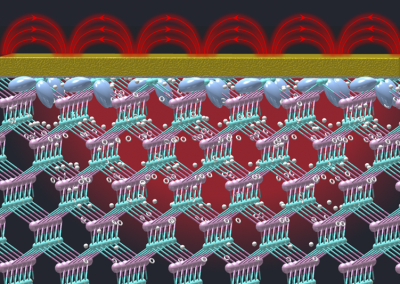 July 30, 2021 | Engineers bend light to enhance wavelength conversion