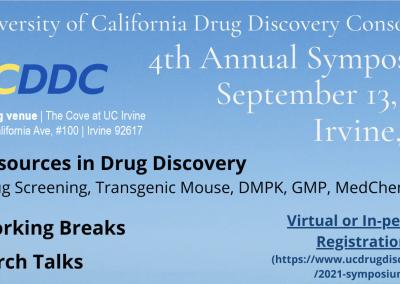 University of California Drug Discovery Consortium 4th Annual Symposium