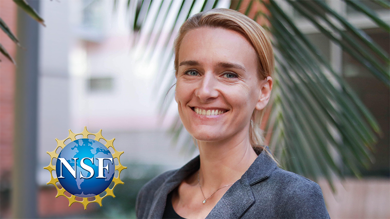 October 14, 2021 | MAE Professor Receives NSF Grants for Molecular Manufacturing and Computing