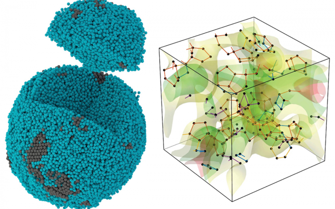 October 18, 2021 | 3D imaging study reveals how atoms are packed in amorphous materials